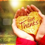 Thanksgiving DAY or thanking God always?