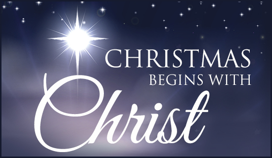 Image - Christmas begins with Christ
