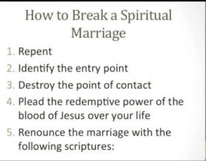 SPiritual Marriage